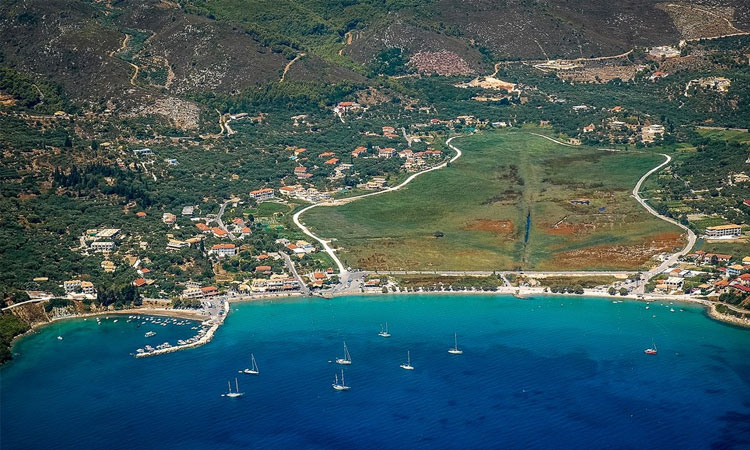 the location of villa natura in zante is in keri